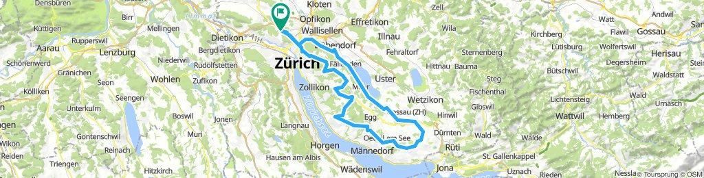 Zürcher Oberland Pfannenstil über viele Schleichwege