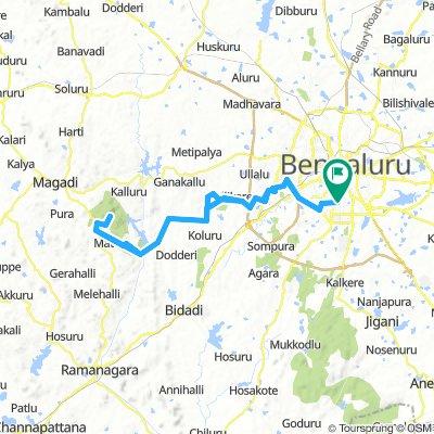 BOTS Big Rock Savanadurga 100 (Century Challege Route)