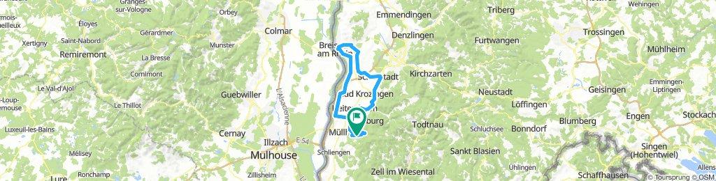 Rundkurs: Badenweiler - Ihringen (Kaiserstuhl)