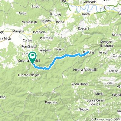 Valea lui Liman-Batrana-Valea lui Liman