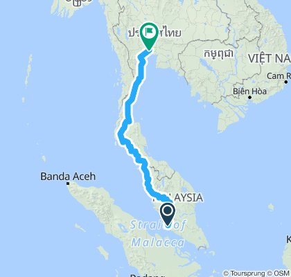 Kul to BKK trasa plan