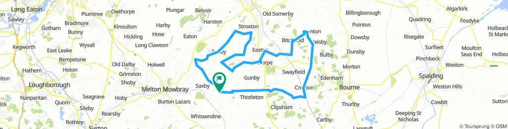 Wymondham 50 loop with cake stop