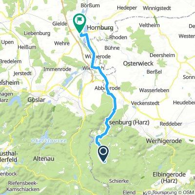 Brocken - BadHarzburg - Vienenburg - Schladen