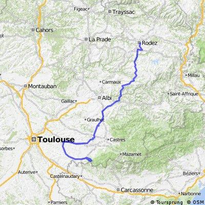 Etappe 13 Tour de France 2010 von Rodez nach Revel