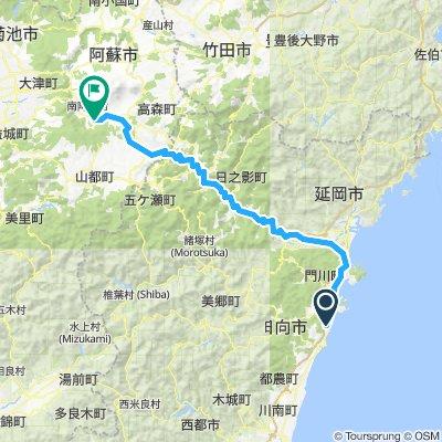 D3 - to Minami Aso, Shikino Mori Hotel / Onsen