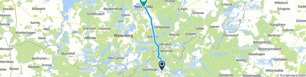 Furstenberg/ Havel to Neustrelitz