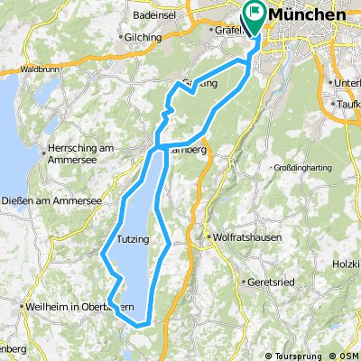 München - Starnberg - München