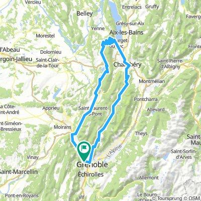 Traversée Chartreuse - Retour lac d'aiguebelette par Mont du Chat