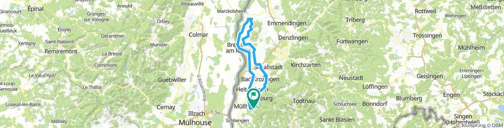Rundkurs: Badenweiler -Texaspass (Kaiserstuhl)