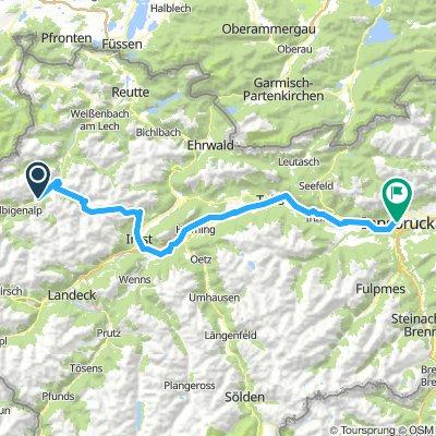 Wien 003: Häselgehr - Innsbruck