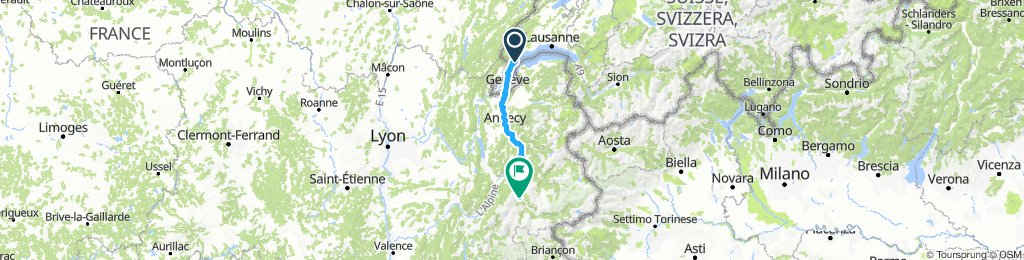 Stäfa - Tarifa Stage #3 Nyon - Saint Marie de Cuines