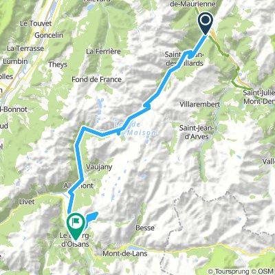 Stäfa - Tarifa Stage #4 Sainte Marie de Cuines - L'Alpe d'Huez - Le Bourg de Oisans