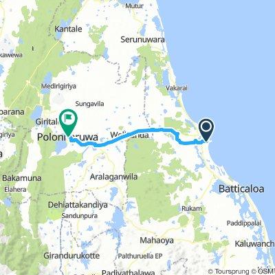 kalkudah - polonnaruwa