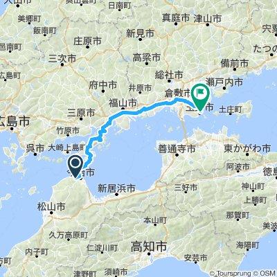 D6 Wednesday 10th to Tomano Okayama-ken