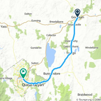 4. Gouldburn to Canberra
