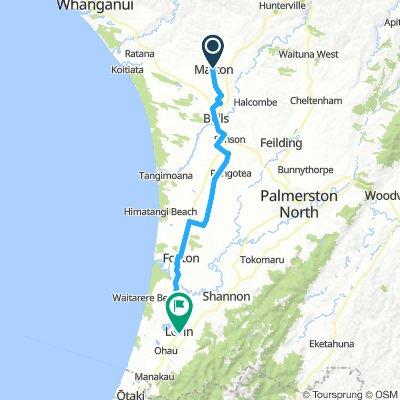 6. Tag  Whanganui - Levin