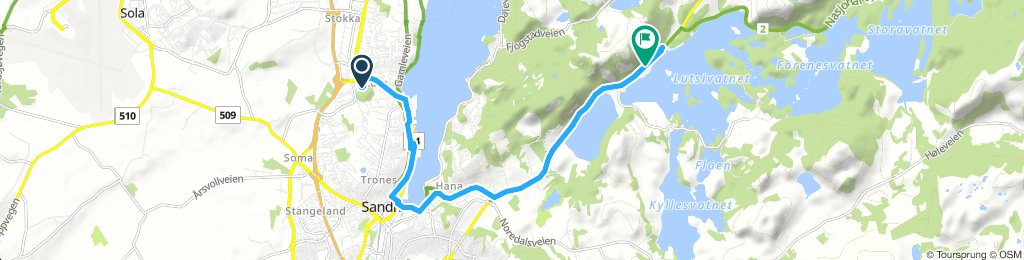 Long Thursday Ride In Sandnes