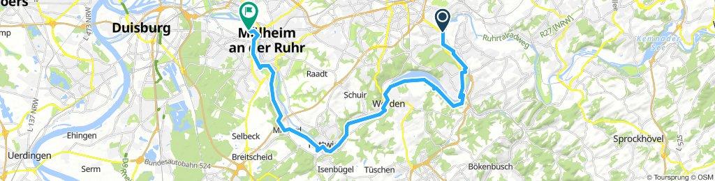 Tag 6 Essen - Mühlheim
