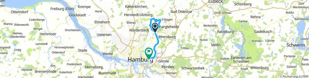 Ohlstedt,Tangstedt und Duvenstedt