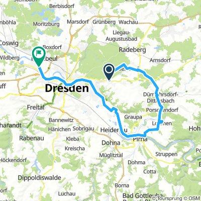 Bühlau-Karswald-Lohmen-Pirna-Stetzsch