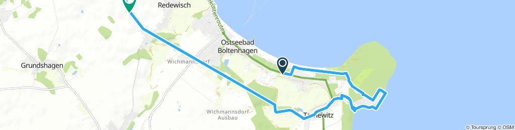 Boltenhagen kleine Fahrrad Tour