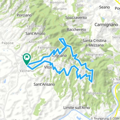 Vinci Firenze Bikemap Your Bike Routes