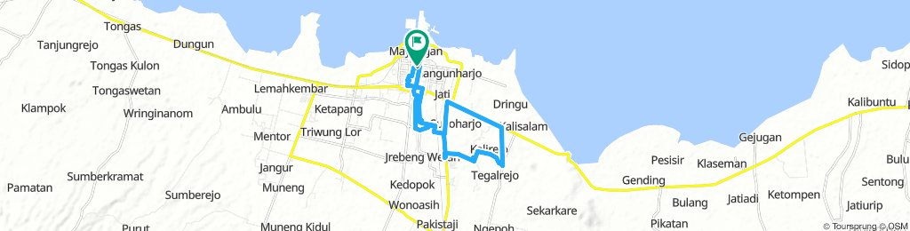 Route Rante Pedot