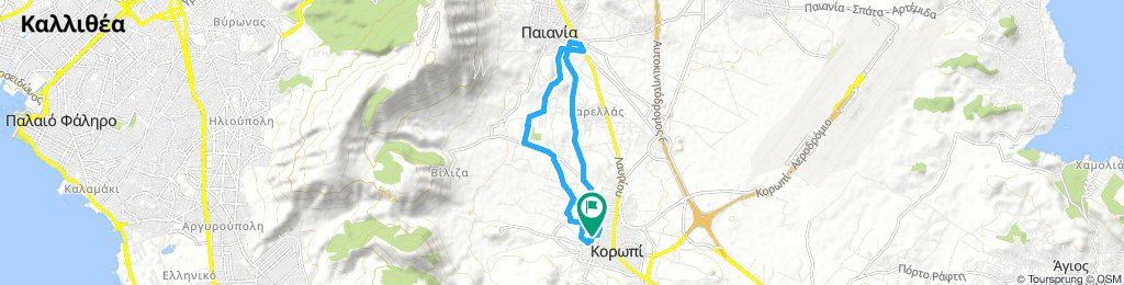 Koropi to paiania for a koulouri