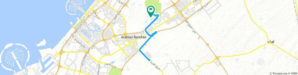 Barari to Al Qudra Road