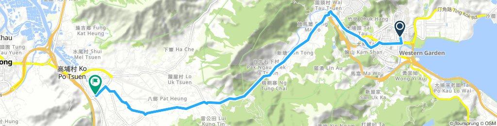 大埔 to 錦上路