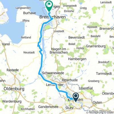Tour-Teil-III - Breme - Bremerhaven