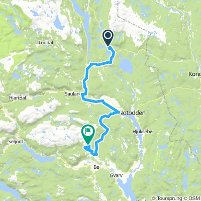 Snarveien - Sønstevatn - Lifjell