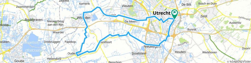 Utrecht - Oudewater/Woerden - Utrecht