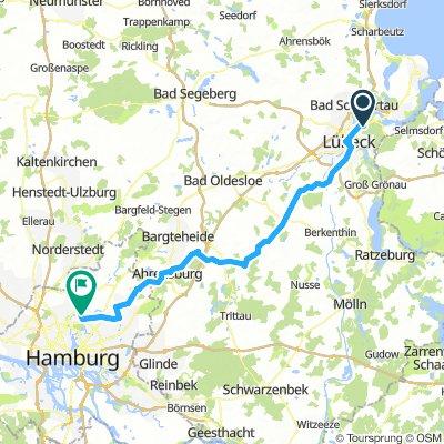 Lübeck - Hamburg