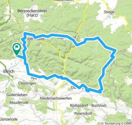NDH 003a: Große Südharzrunde vom Südharzhotel Sülzhayn