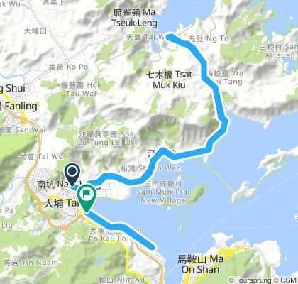 Extensive 星期一 Route In 大埔