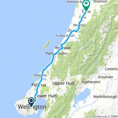 Neuseeland Nordinsel 33. Etappe
