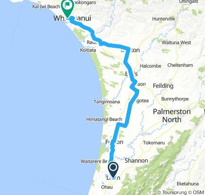 Neuseeland Nordinsel 34. Etappe