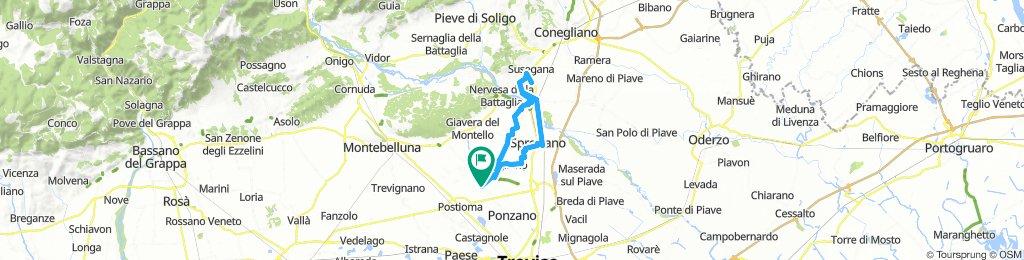 Povegliano-Susegana per l'EducTour AgriCycle Veneto 2018