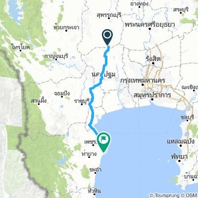 Thailand Tour Stage #12 Suphanburi - Phetchaburi