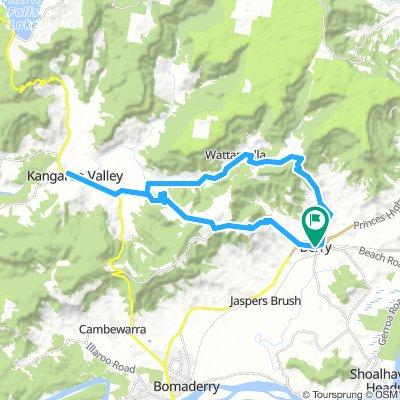 Kangaroo Valley loop