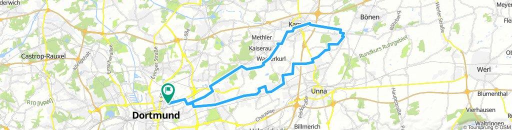 Borsigplatz - Körne - Kamen - Werve - Hellweg