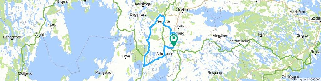 7 nights  Two national parks Heart of Sweden Örebro