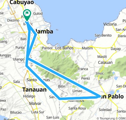 banlic to san pablo to banlic via santo tomas