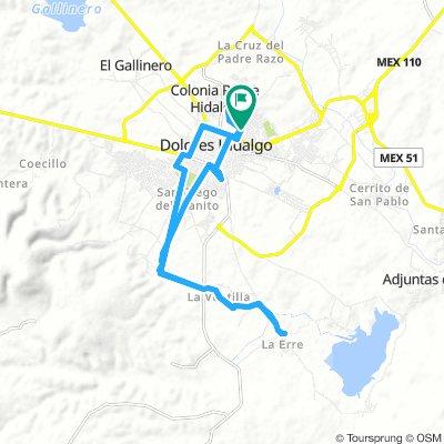 ride through Dolores Hidalgo