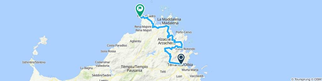 Sardinien 19 1. Etappe