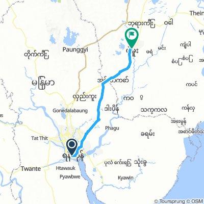 Yangon to Bago