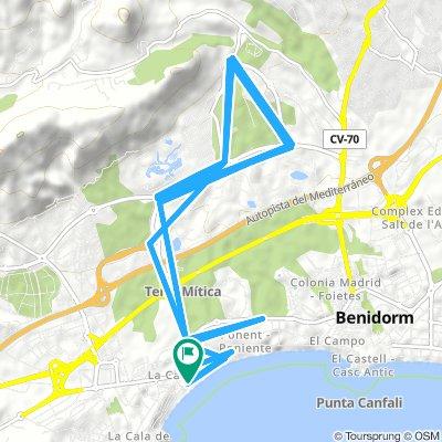 Vuelta a La Marina (Benidorm)