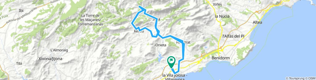Vuelta a La Marina (La Vila)
