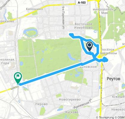 Деловые морозные велопоездки Реутов-Измайлово-Реутов-МЦК 28 ноября 2018 часть 1